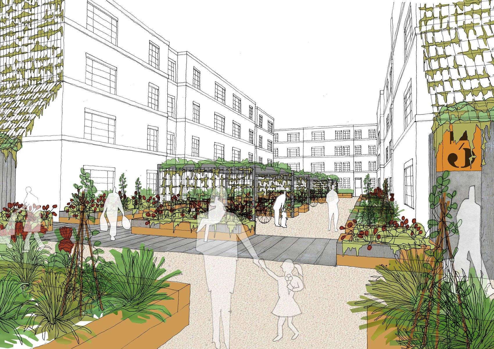 East London Co. Housing by Morrow + Lorraine